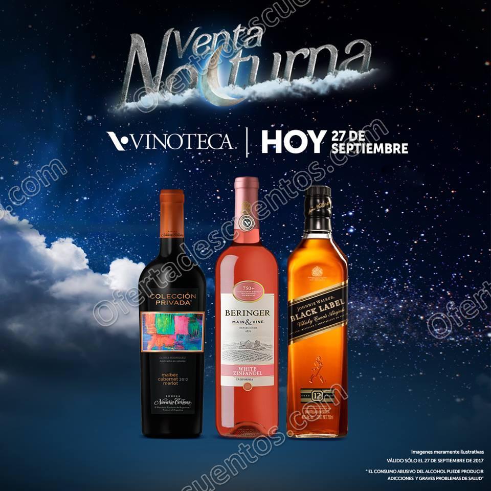 Venta Nocturna Vinoteca 27 de Septiembre 2017