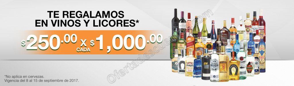 Comercial Mexicana: $250 por Cada $1,000 de Compra en Vinos y Licores