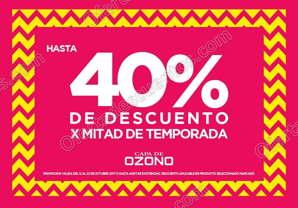 Capa de Ozono: Hasta 40% de descuento en calzado por mitad de temporada