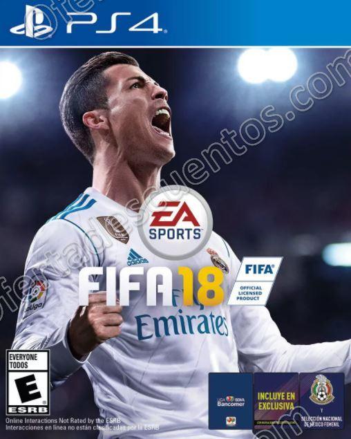 Elektra: FIFA 18 para Xbox One o PS4 a $889 con envío gratis