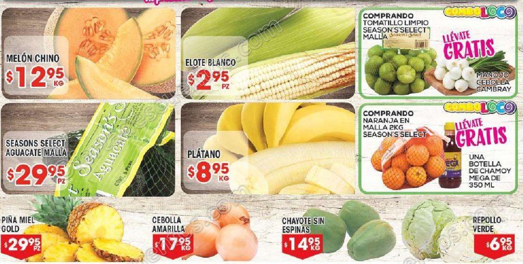 HEB: 7 Días de Frutas y Verduras del 17 al 23 de Octubre 2017