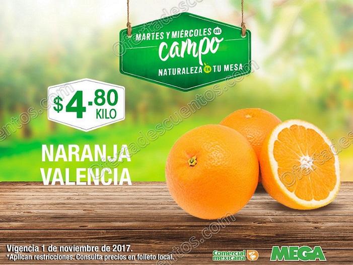 Comercial Mexicana: Frutas y Verduras del Campo 31 de Octubre y 1 de Noviembre 2017