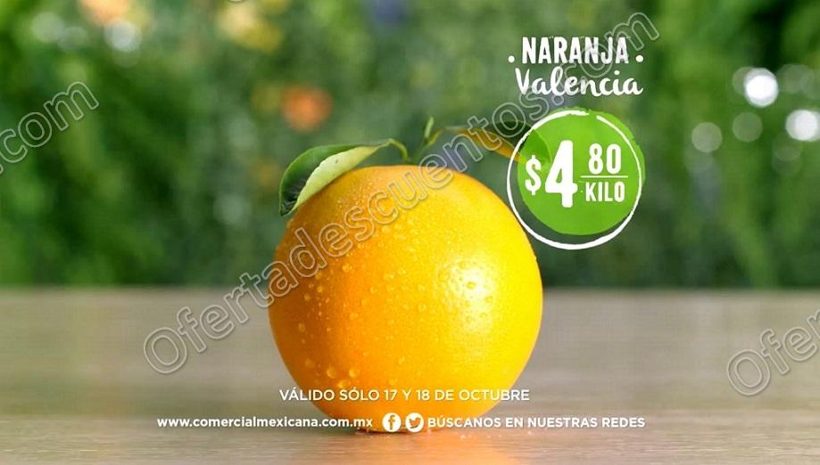 Comercial Mexicana: Frutas y Verduras del Campo 17 y 18 de Octubre 2017