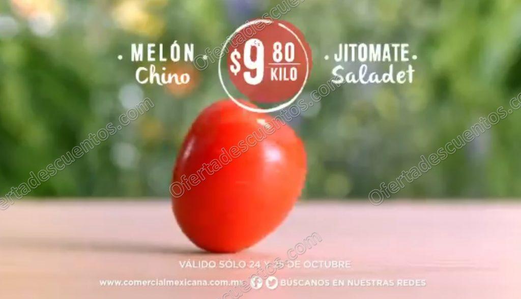 Comercial Mexicana: Frutas y Verduras del Campo 24 y 25 de Octubre 2017