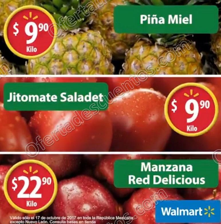 Martes de Frescura Walmart 17 de octubre 2017