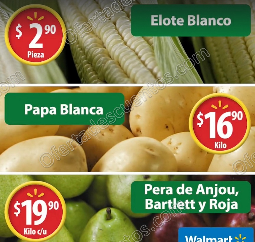 Martes de Frescura Walmart 24 de Octubre 2017