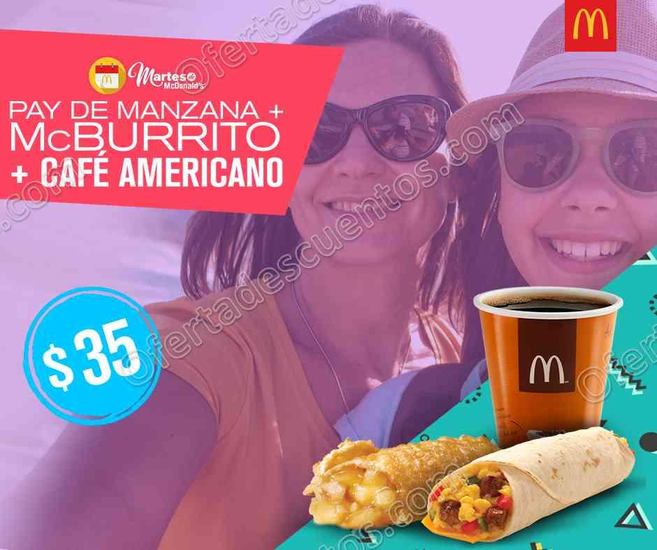 Cupones Martes de McDonald's 10 de Octubre 2017