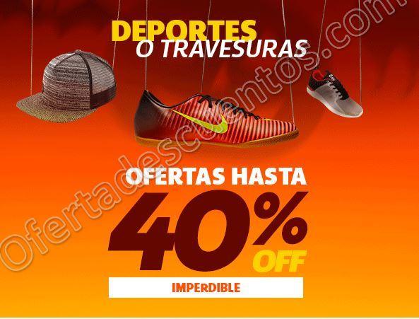 Netshoes: Hasta 40% de descuento en Calzado y Accesorios deportivos