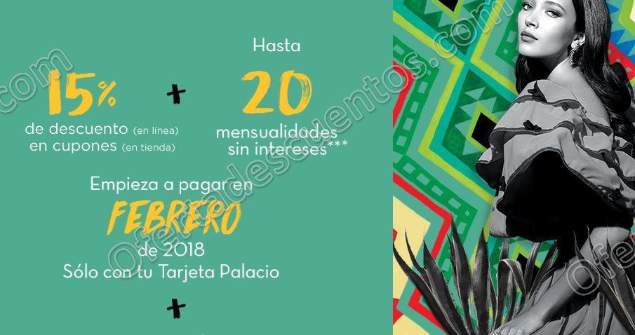 Noches Palacio de Hierro 2017: Hasta 15% en cupones más hasta 20 meses sin intereses
