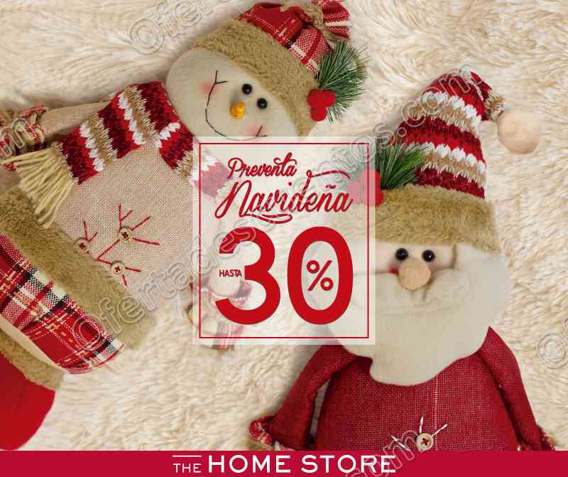 The home Store: Preventa Navideña hasta 30% de descuento