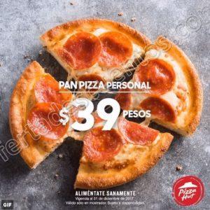 Pizza Hut: Pan Pizza Individual 1 Ingrediente por sólo $39