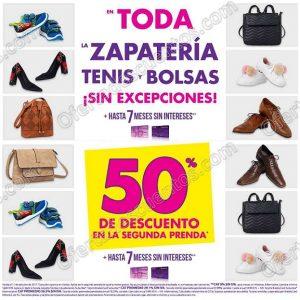 Suburbia 50% de descuento en bolsas, zapatería y tenis