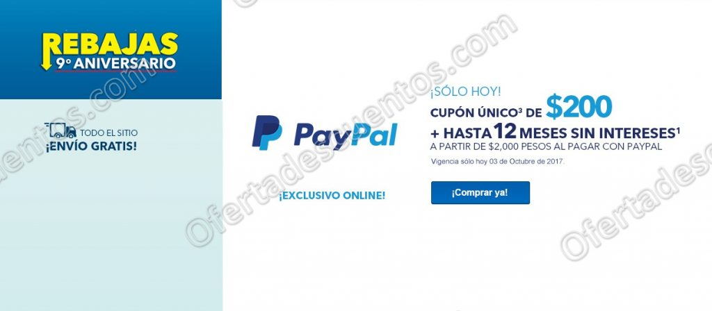 Best Buy: Cupón de $200 al Pagar con PayPal