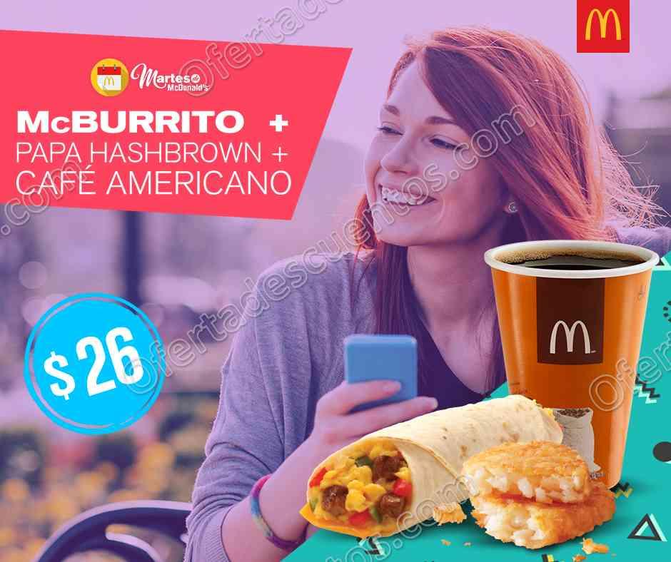 Cupones Martes de McDonald's 31 de Octubre 2017