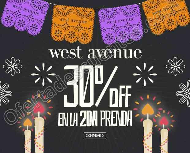 Osom: 30% de descuento en la segunda prenda West Avenue