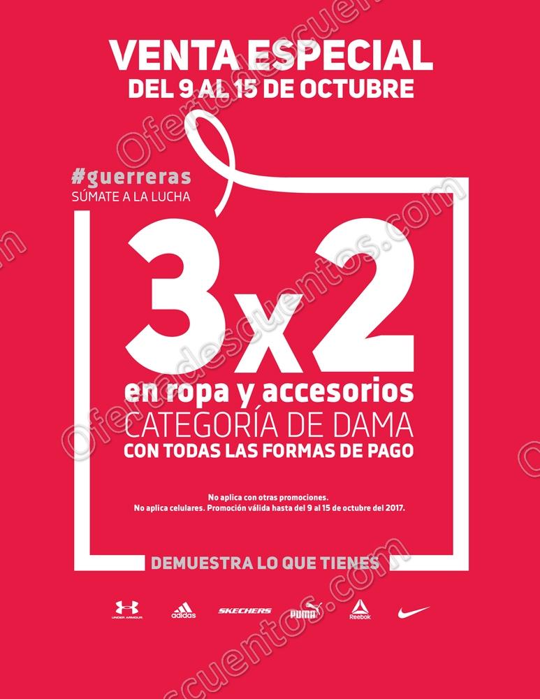 Dportenis: Venta Especial Para Ellas del 9 al 15 de Octubre 2017