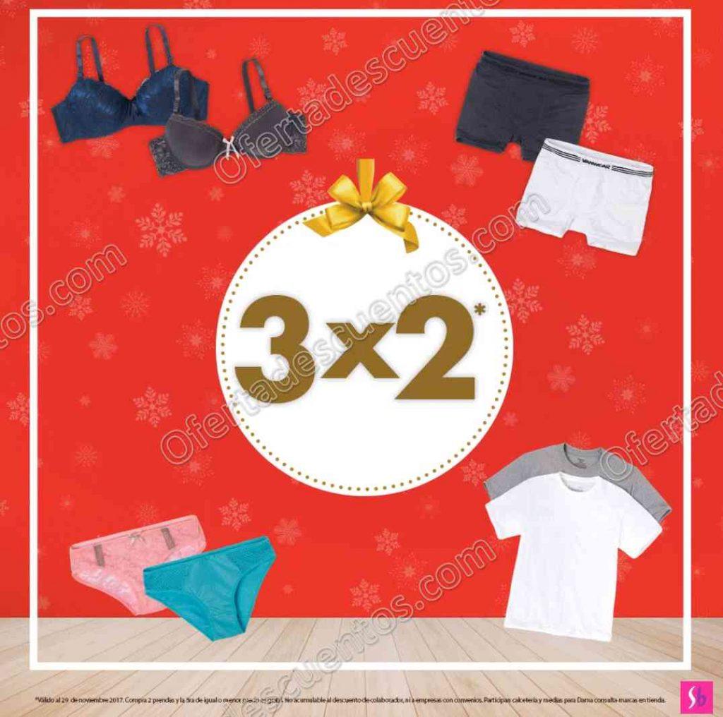 Suburbia: 3×2 en toda la ropa Interior, Corsetería, Pijamas, Térmicos y más al 29 de Noviembre