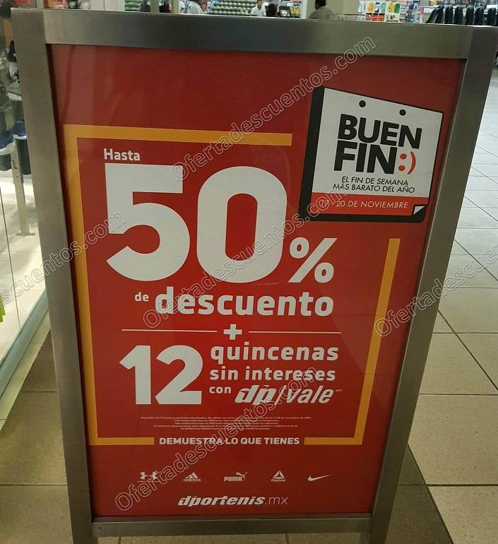 El Buen Fin 2017: Dportenis Hasta 50% de descuento