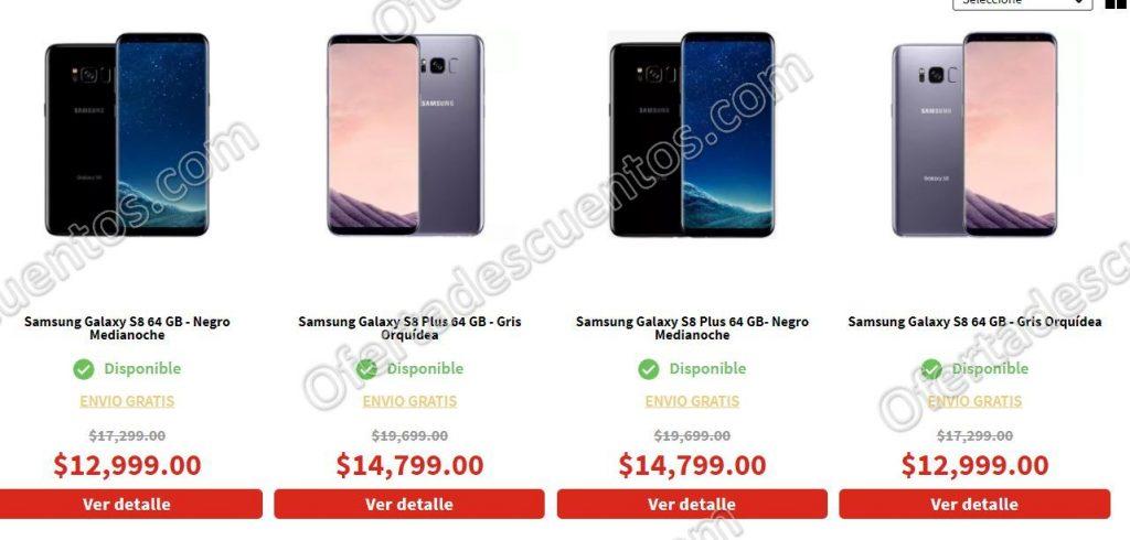 Ofertas El Buen Fin 2017 Elektra: Samsung Galaxy S8 Plus 64 GB a $12,209 y más