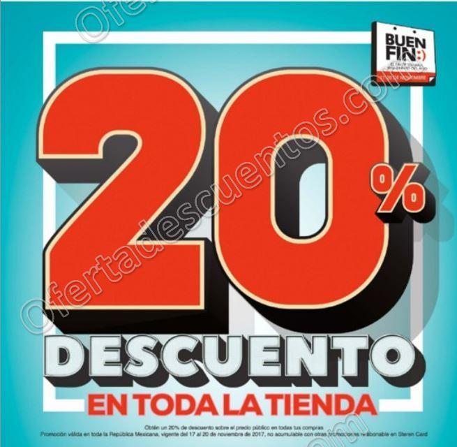 El Buen Fin 2017 Steren: 20% de descuento en toda la tienda