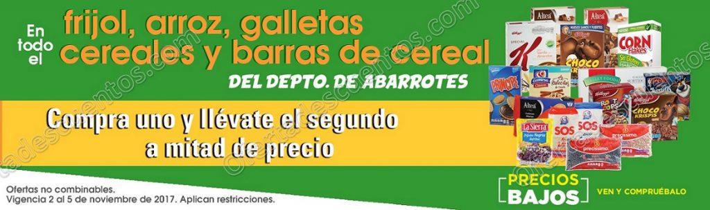 Comercial Mexicana: 50% de descuento en segunda compra en Galletas, Frijol, Arroz y más