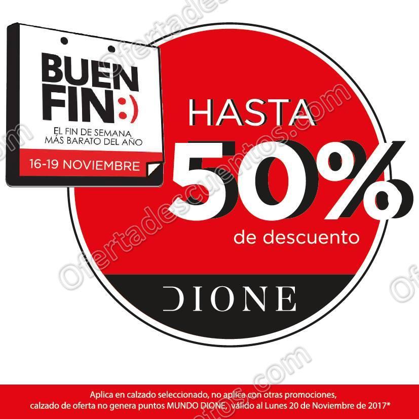 Promoción El Buen Fin 2017 Dione: Hasta 50% de descuento