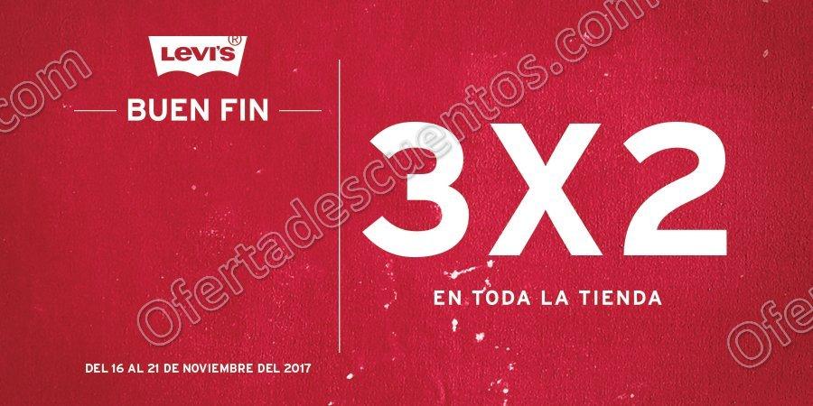 El Buen Fin 2017 Levi's: 3×2 en toda la tienda