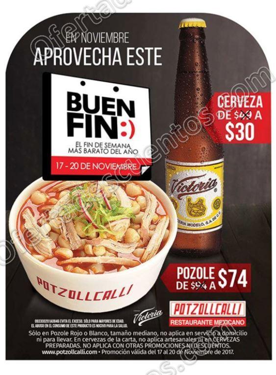 Promociones El Buen Fin 2017 Potzollcalli