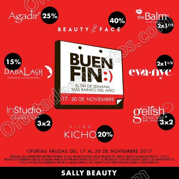 El Buen Fin 2017 Sally Beauty: Hasta 40% de descuento