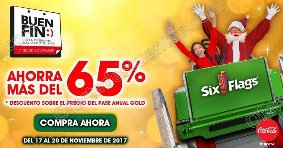 El Buen Fin 2017 Six Flags México