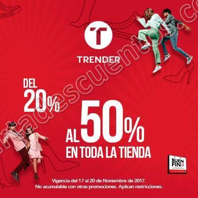 El Buen Fin 2017 Trender: Del 20% al 50% de descuento