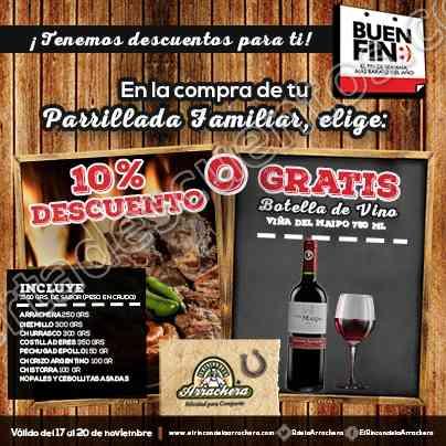 Promoción El Buen Fin 2017 El Rincón de la Arrachera
