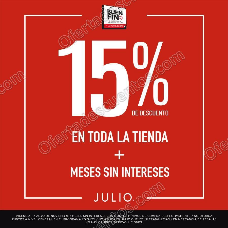 El Buen Fin 2017 Julio: Hasta 15% de descuento