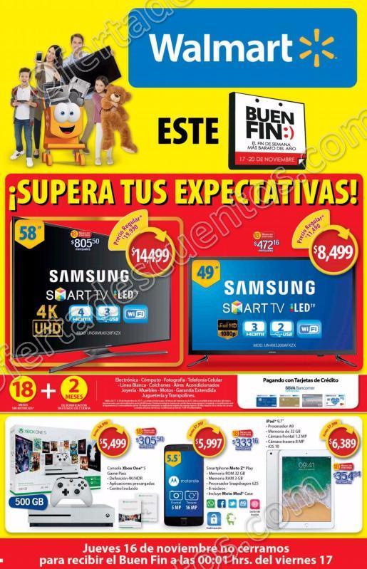 Folleto Buen Fin 2018 Walmart