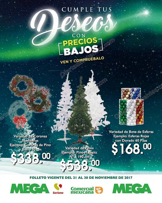 Comercial Mexicana: Folleto de Ofertas del 21 al 30 de Noviembre 2017