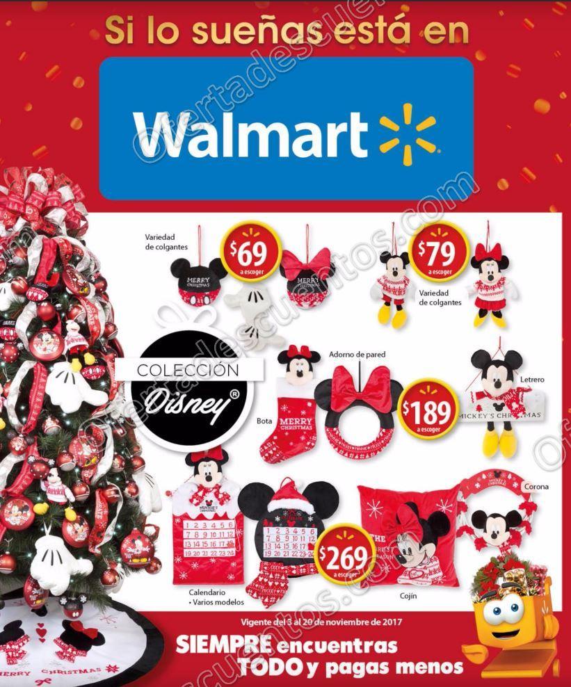 Walmart: Folleto de Ofertas para Navidad del 3 al 20 de Noviembre 2017