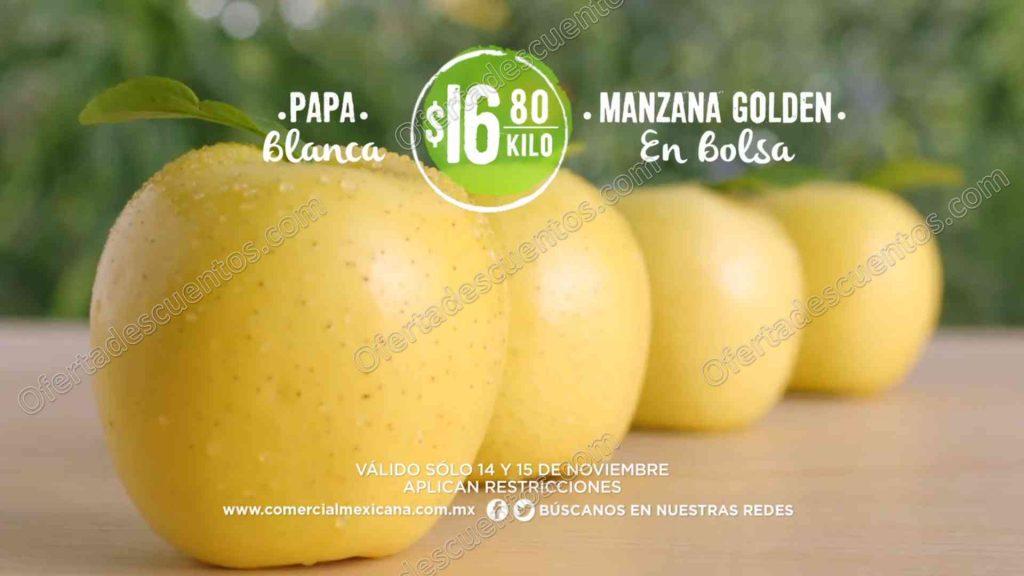 Comercial Mexicana: Frutas y Verduras del Campo 14 y 15 de Noviembre 2017