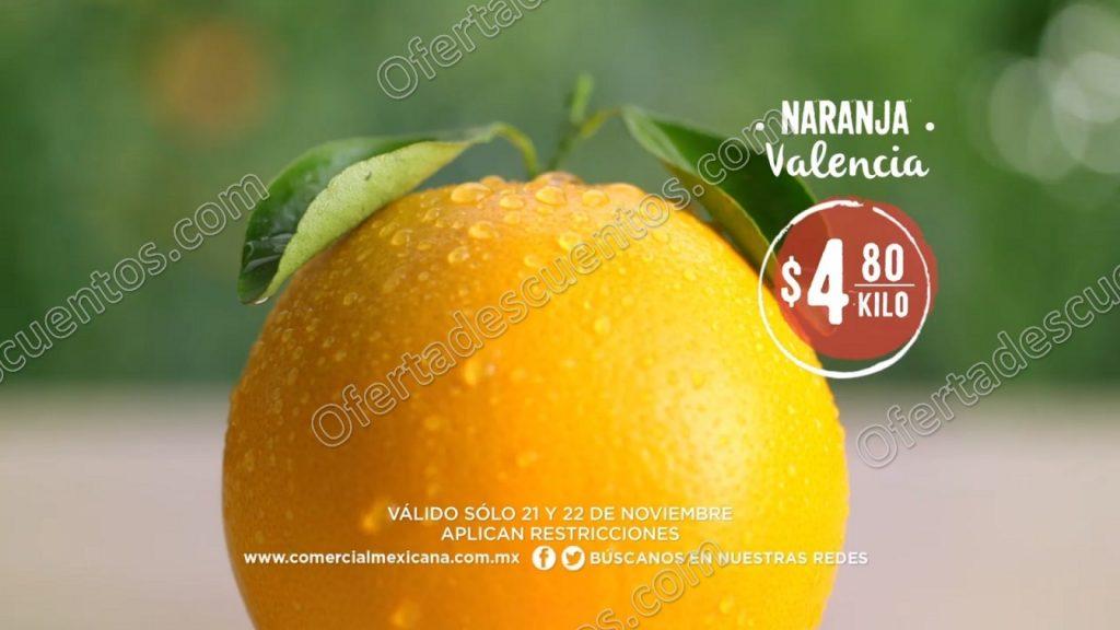 Comercial Mexicana: Frutas y Verduras del Campo 21 y 22 de Noviembre 2017