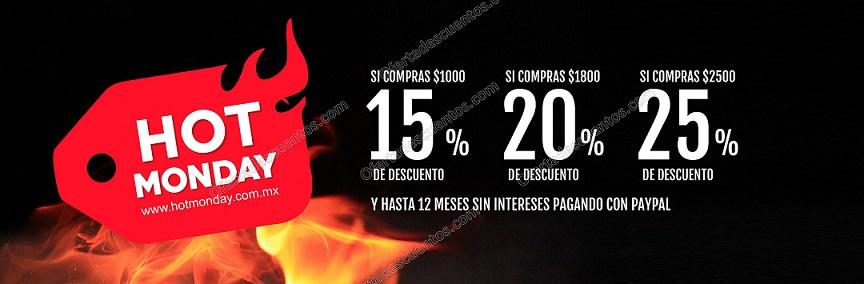 Hot Monday 2017 Dportenis: Hasta 25% de descuento