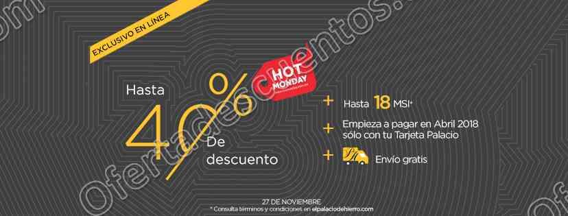 Hot Monday 2017 El Palacio de Hierro: Hasta 40% de descuento