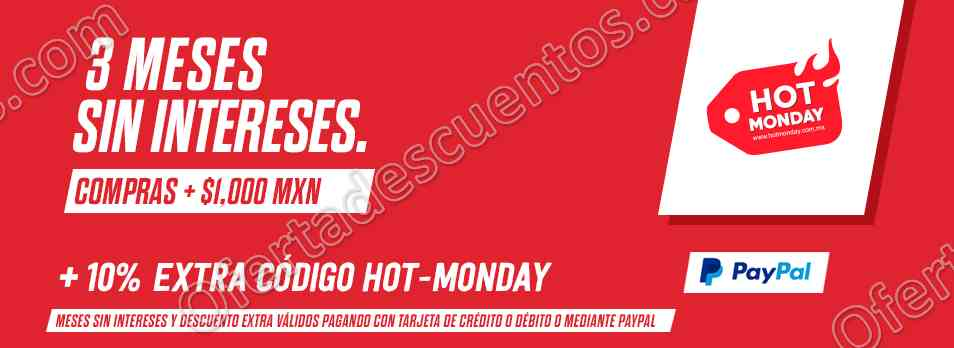 Hot Monday 2017 Pet n'Go: 10% de descuento adicional y 3 meses sin intereses