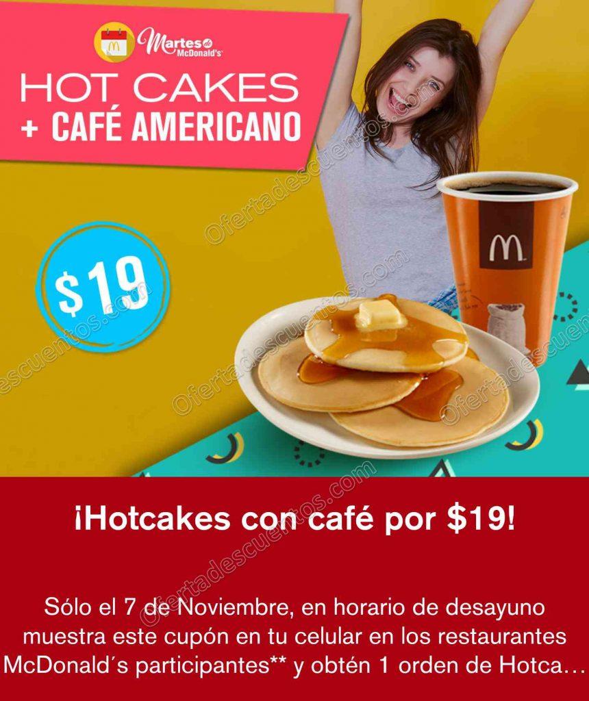 Cupones Martes de McDonald's 7 de Noviembre 2017