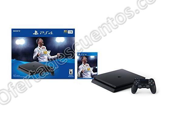 Ofertas Buen Fin 2017 Amazon México: Consola PS4 Fifa 18 Slim 1TB $5,998