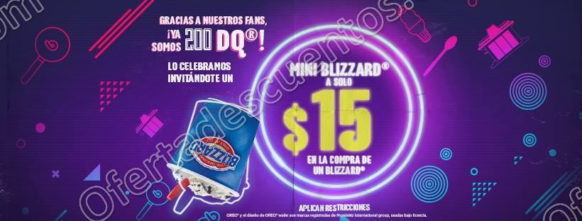 Dairy Quee: En la compra de cualquier Blizzard llévate un mini a $15