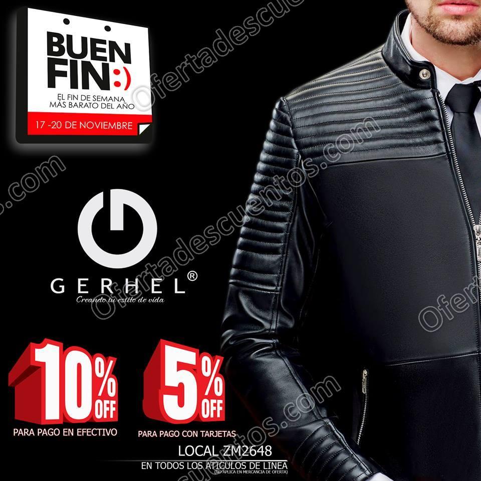 Promociones El Buen Fin 2017 Gerhel: 10% de descuento