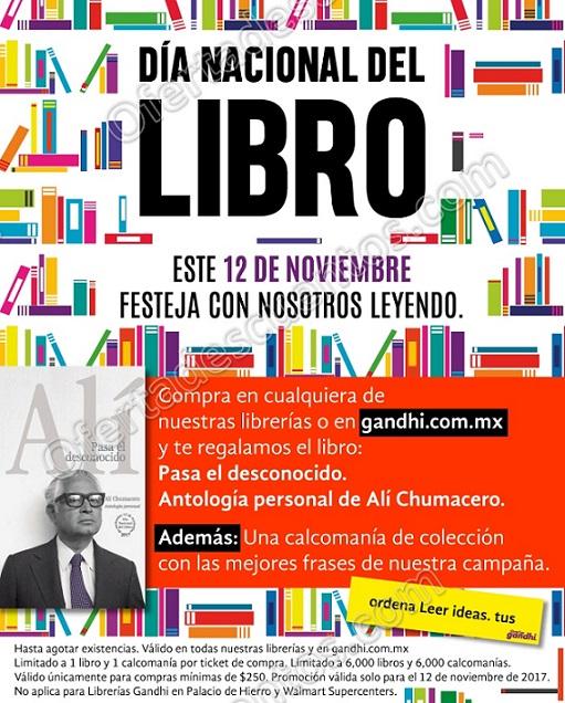 Gandhi: Promoción Día del Libro 12 de Noviembre 2017