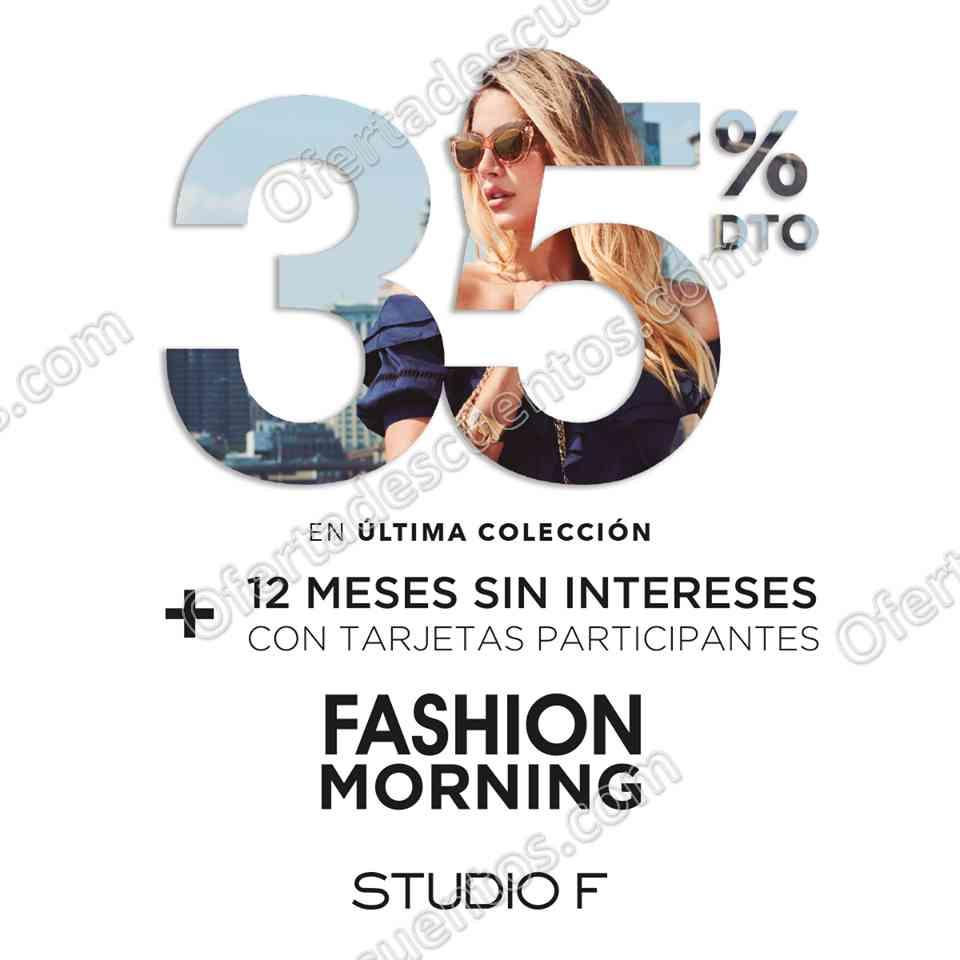 Studio F: 35% de descuento en última Colección de 10:00 am a 2:00 pm 29 de noviembre