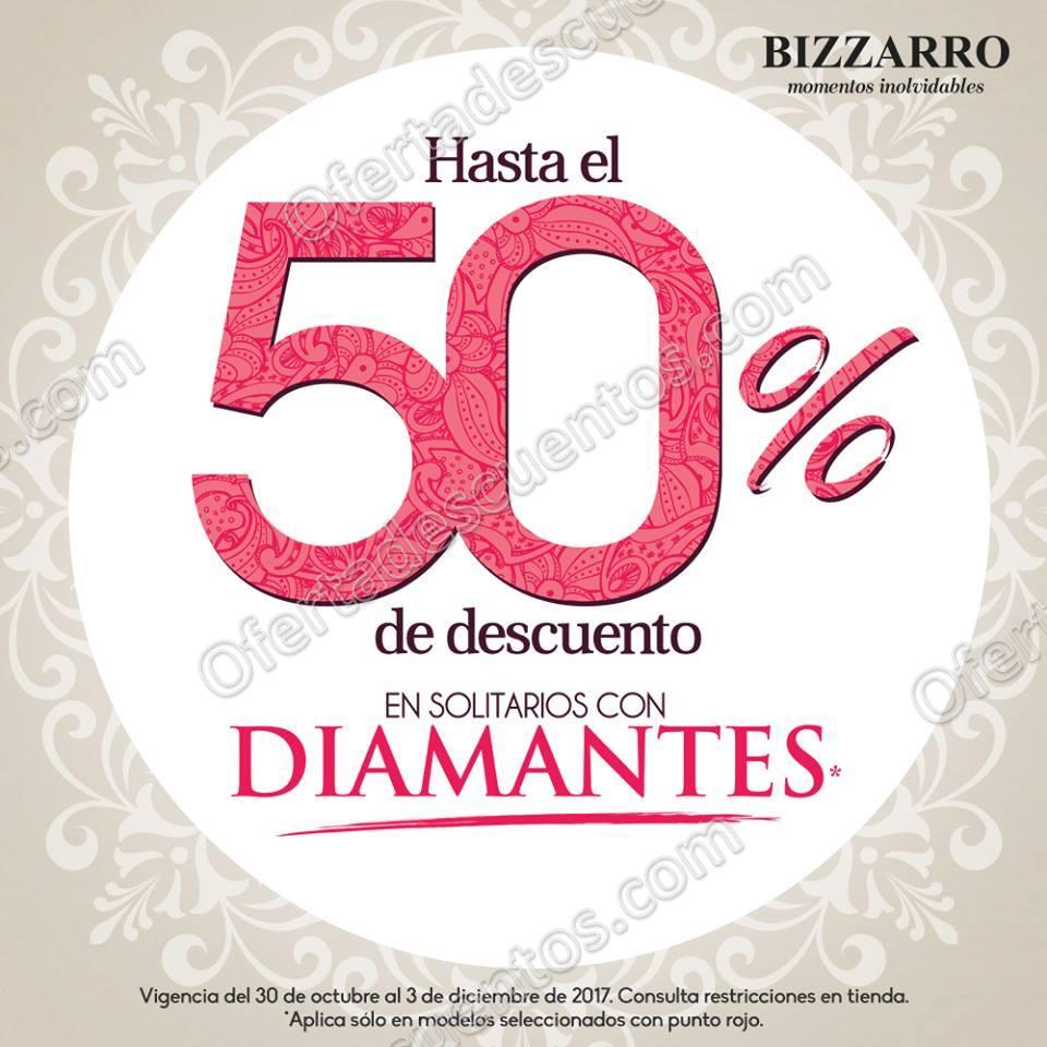 Joyerías Bizzarro: Promociones Noviembre/Diciembre 2017 hasta 50% de descuento