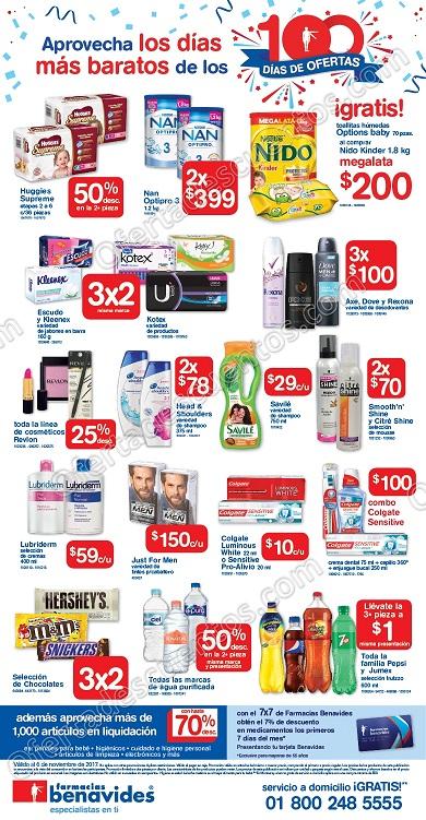 Farmacias Benavides: Promociones de Fin de Semana del 3 al 6 de Noviembre