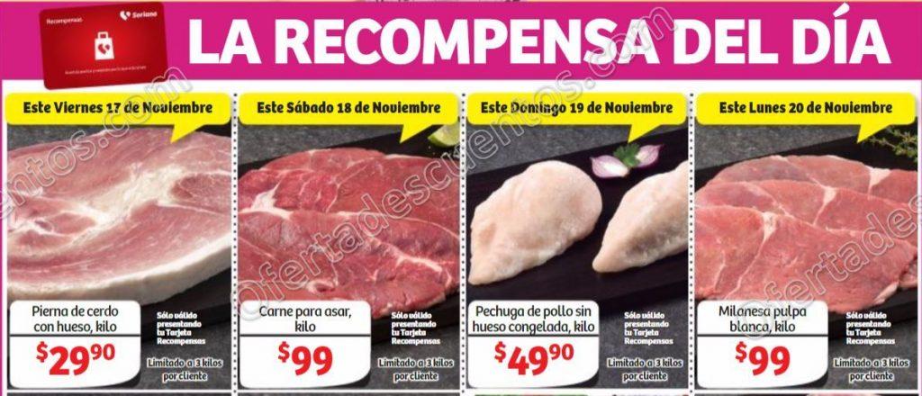 Soriana: Promociones Recompensas del Día del 17 al 20 de Noviembre